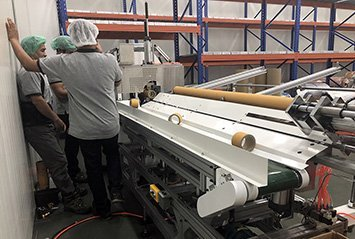 5 - Thailand client for paper core cutter