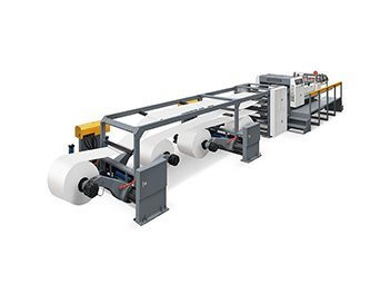 JT-SHT-1900C 4 Rolls High Speed Rotary Blade News Paper Cardboard Paper Kraft Paper Sheeting Machine Cross Cutting Machine