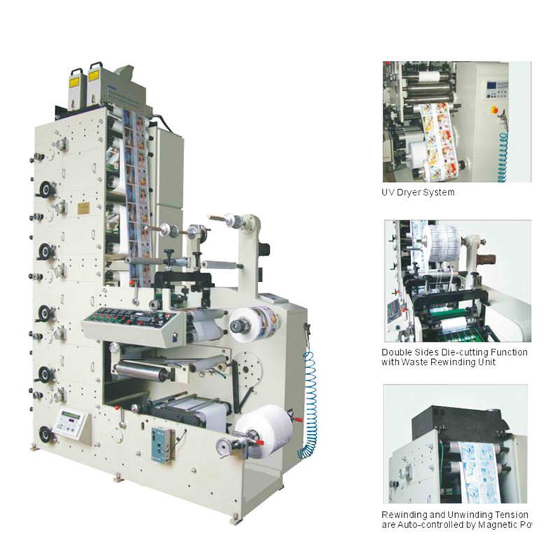 JT-FPT-320 Label Flexo Printing Machine