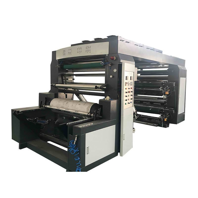 JT-JTH-4100 4 Colors Thermal Paper Flexo Printing Machine