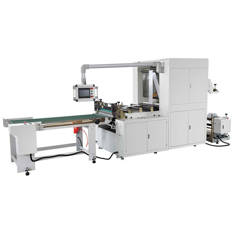 Double Layers Sandwish Paper Sheeting Machine Roll To Sheet Cutting Machine