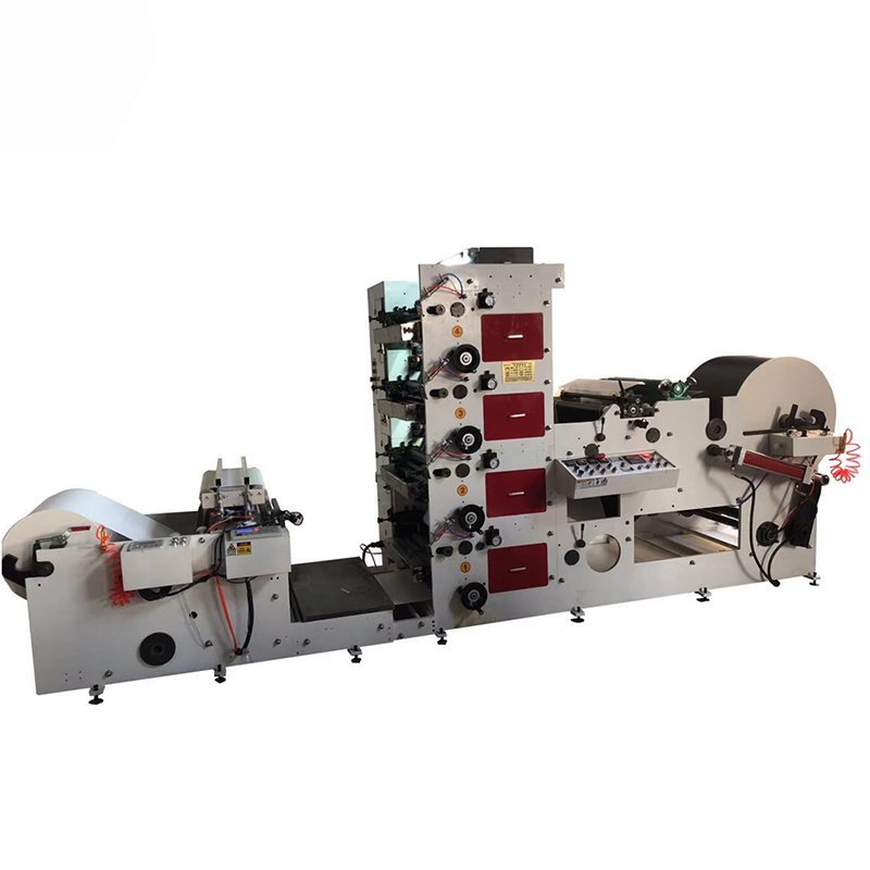 Paper Straw Flexo Printing Machine Printing Paper Jumbo Roll