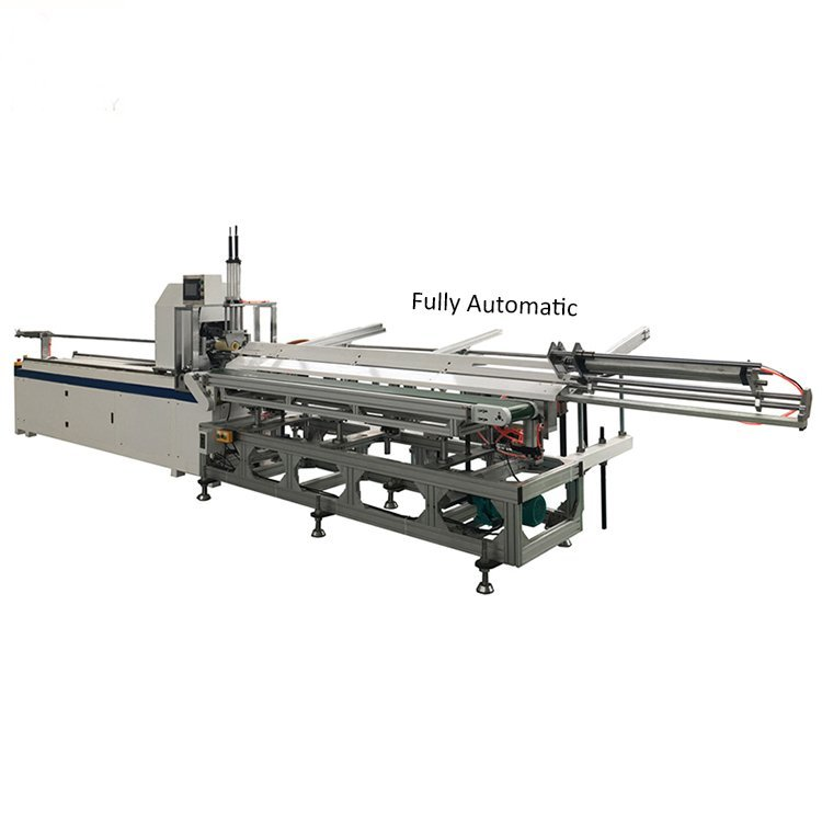 Fully-Automatic-Paper-Core-Cutting-Machine