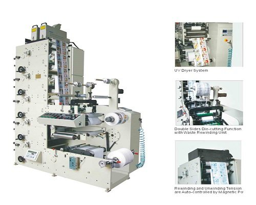 JT-FPT-320 Label Flexo Printing Machine