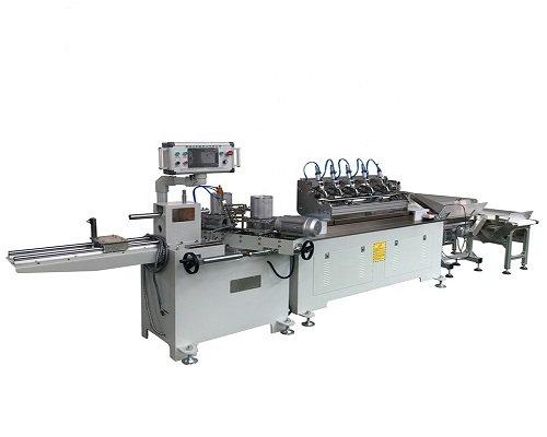 Paper Straw Making Machine With Online Cutter