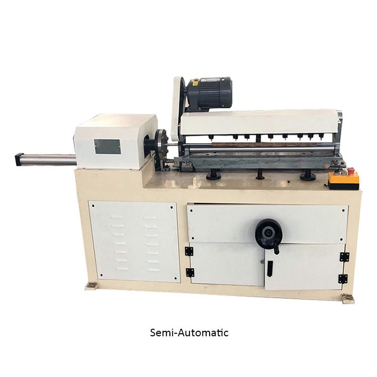 Semi-Automatic-Paper-Core-Recutter-Machine