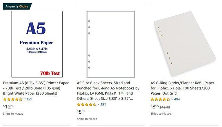 A5-Sheet-Price