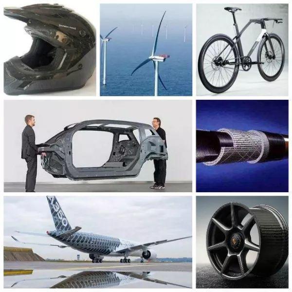 Carbon-fiber-material-use