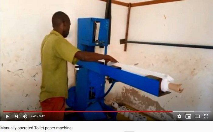 manual-tissue-paper-making-machine