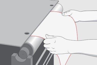 Plate-mounting-flexo-printing