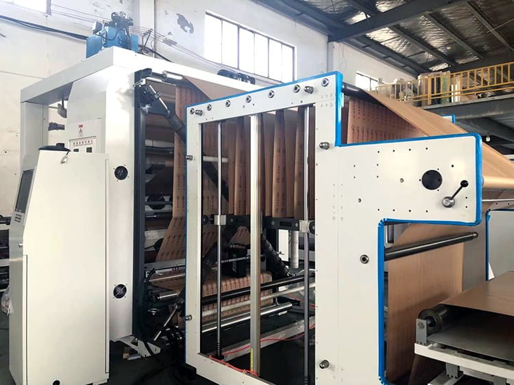Automatic-thermal-paper-roll-printing-slitting-rewinding-machine
